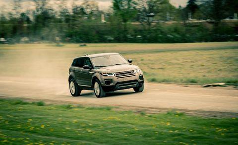 Land vehicle, Vehicle, Car, Regularity rally, Sport utility vehicle, Luxury vehicle, Range rover evoque, Automotive design, Off-roading, Compact sport utility vehicle,