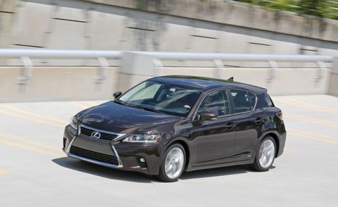 2017 Lexus Ct200h Placement