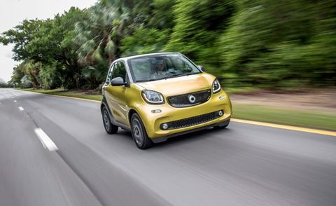 2017 Smart Fortwo Eectric Drive Hatchback Placement