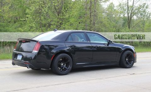 Chrysler 300 Srt Hellcat Spy Photo