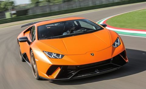 2019 Lamborghini Huracan What It May Gain News Car And Driver