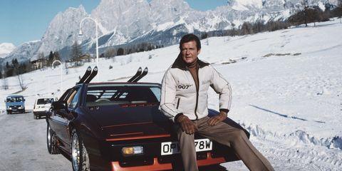 Vehicle, Car, Snow, Personal luxury car, Winter, Mountain range, Mountain, Travel, City car, Coupé,