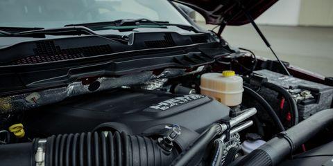 Vehicle, Car, Engine, Auto part, Automotive design, Hood, Automotive engine part, Rim,