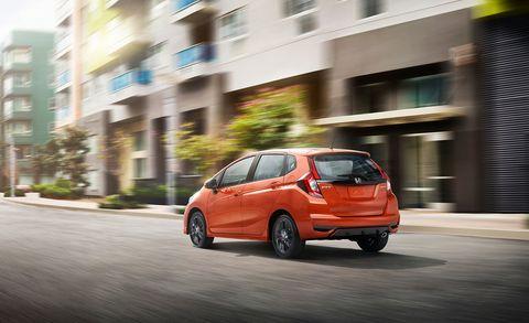 Land vehicle, Vehicle, Car, Honda fit, City car, Honda, Hatchback, Automotive design, Subcompact car, Compact car,
