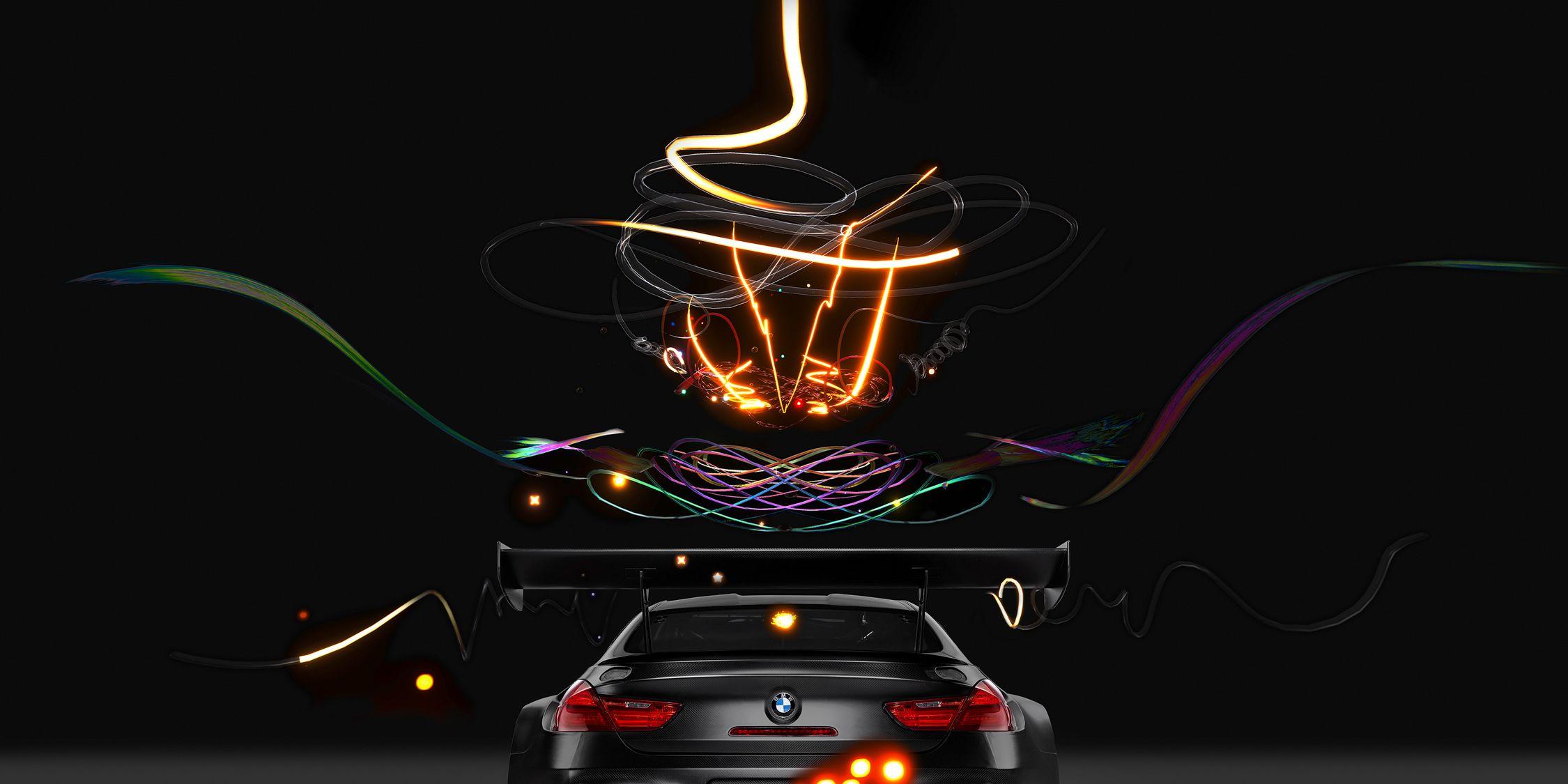 BMW M6 GT3 Art Car Exists in a Digital Alternate Reality
