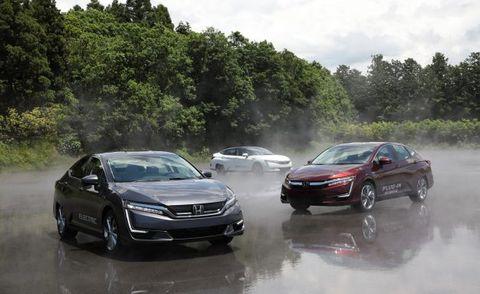 Honda Clarity Electric, Plug-In Hybrid: Green Niche Appeal