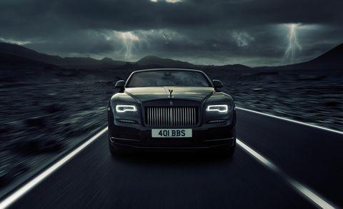Land vehicle, Vehicle, Luxury vehicle, Car, Rolls-royce, Rolls-royce phantom, Sky, Automotive design, Personal luxury car, Sedan,