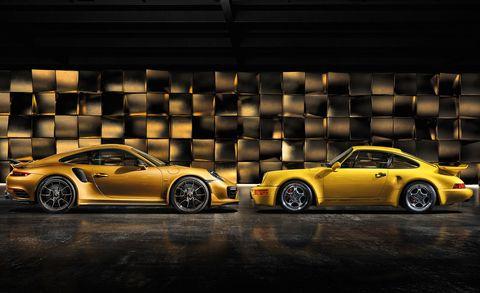 Land vehicle, Vehicle, Car, Sports car, Automotive design, Yellow, Coupé, Performance car, Rim, Supercar,