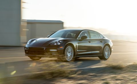 2017 Porsche Panamera Turbo Executive