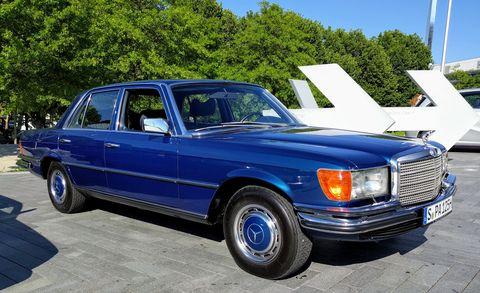 Land vehicle, Vehicle, Car, Luxury vehicle, Motor vehicle, Classic car, Mercedes-benz, Mercedes-benz 450sel 6.9, Sedan, Mercedes-benz w126,