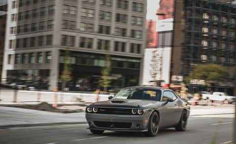 Land vehicle, Vehicle, Car, Automotive design, Muscle car, Performance car, Urban area, Luxury vehicle, Dodge challenger, Infrastructure,