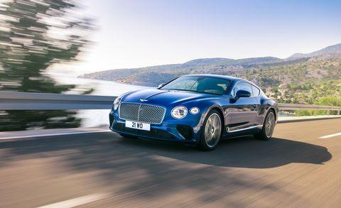 Land vehicle, Vehicle, Car, Luxury vehicle, Performance car, Bentley, Automotive design, Personal luxury car, Sports car, Sedan,