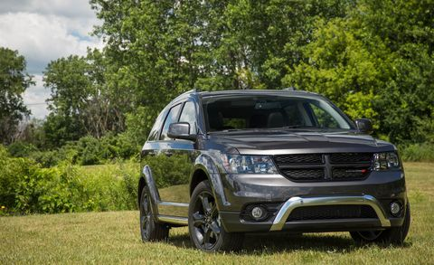 Land vehicle, Vehicle, Car, Sport utility vehicle, Dodge journey, Luxury vehicle, Family car, Compact sport utility vehicle,