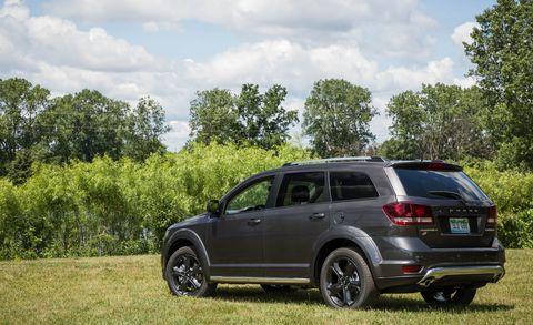 Land vehicle, Vehicle, Car, Sport utility vehicle, Dodge journey, Compact sport utility vehicle, Automotive design, Luxury vehicle, Family car, Crossover suv,