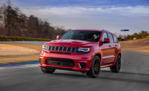 Jeep Prices The 707 Hp Grand Cherokee Trackhawk News Car And Driver