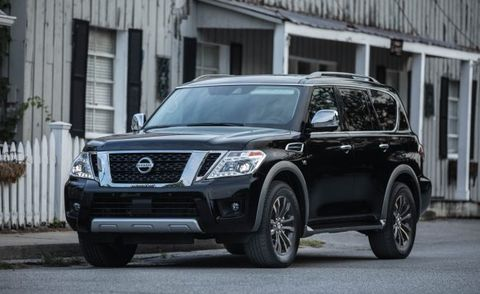 2018 Nissan Armada: Changes, Features, Price >> 2018 Nissan Armada Adds New Mirror Camera Tech News Car