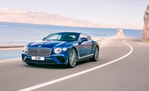 Land vehicle, Vehicle, Car, Luxury vehicle, Bentley, Performance car, Automotive design, Motor vehicle, Bentley continental gt, Personal luxury car,