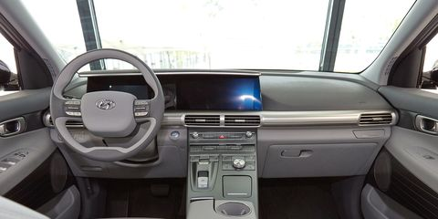 Motor vehicle, Steering part, Automotive design, Vehicle, Steering wheel, Vehicle door, White, Car, Center console, Glass,