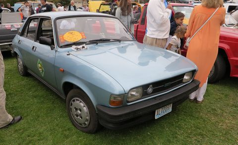 Land vehicle, Vehicle, Car, Classic car, Austin allegro, Sedan, Coupé, Hatchback, Family car,