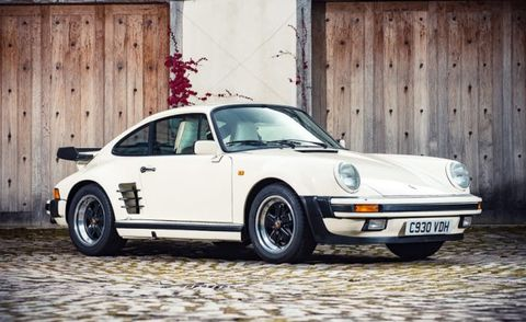 The Hellion: 1985 Porsche 911 Turbo SE Owned by Judas Priest