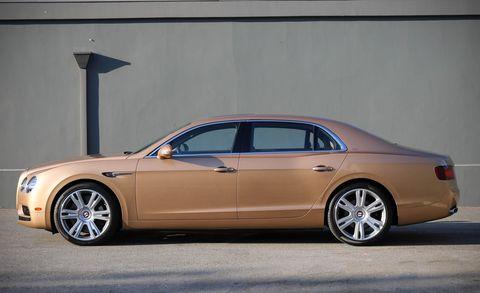 Land vehicle, Vehicle, Luxury vehicle, Car, Motor vehicle, Rim, Automotive design, Bentley, Sedan, Automotive tire,