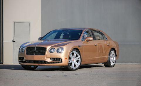 Land vehicle, Luxury vehicle, Vehicle, Car, Motor vehicle, Bentley, Automotive design, Sedan, Bentley continental flying spur, Personal luxury car,