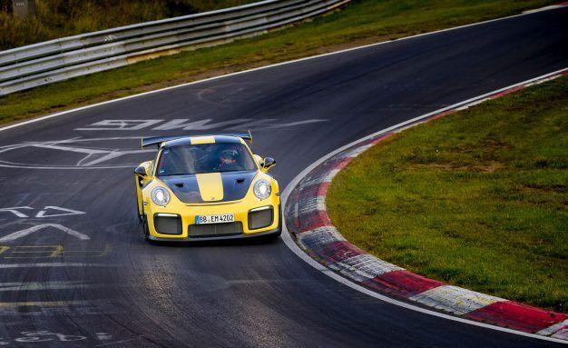 2018 porsche 911 gt2 rs nurburgring lap record run