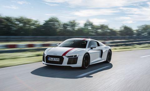 Land vehicle, Vehicle, Car, Automotive design, Sports car, Audi, Supercar, Coupé, Performance car, Audi r8,