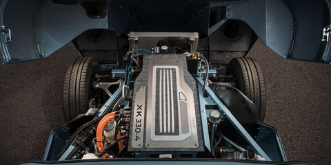 Jaguar Clic Electrifies a 1968 E-type Roadster | News ... on