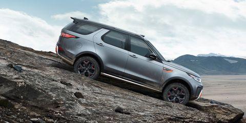Land Rover Discovery Svx Off Road V 8 Suv Canceled