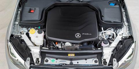 Land vehicle, Vehicle, Car, Luxury vehicle, Hood, Mercedes-benz, Grille, Automotive design, Compact car, Engine,