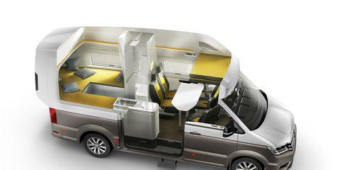 Vw California Camper >> California Xxl A Gigantic Camper Van Brought To You By Volkswagen