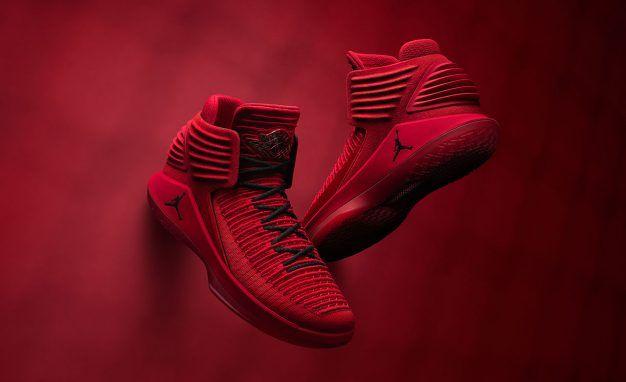Jordan 32 Sneaker Launches in Rosso