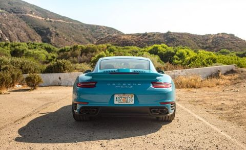 Tracing the Saint Francis Dam Disaster in a 2017 Porsche 911 Turbo S