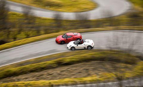 Land vehicle, Vehicle, Car, Race track, Automotive design, Asphalt, Motorsport, Racing, Sports car, Auto racing,