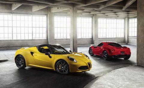 2018 Alfa Romeo 4c And Spider