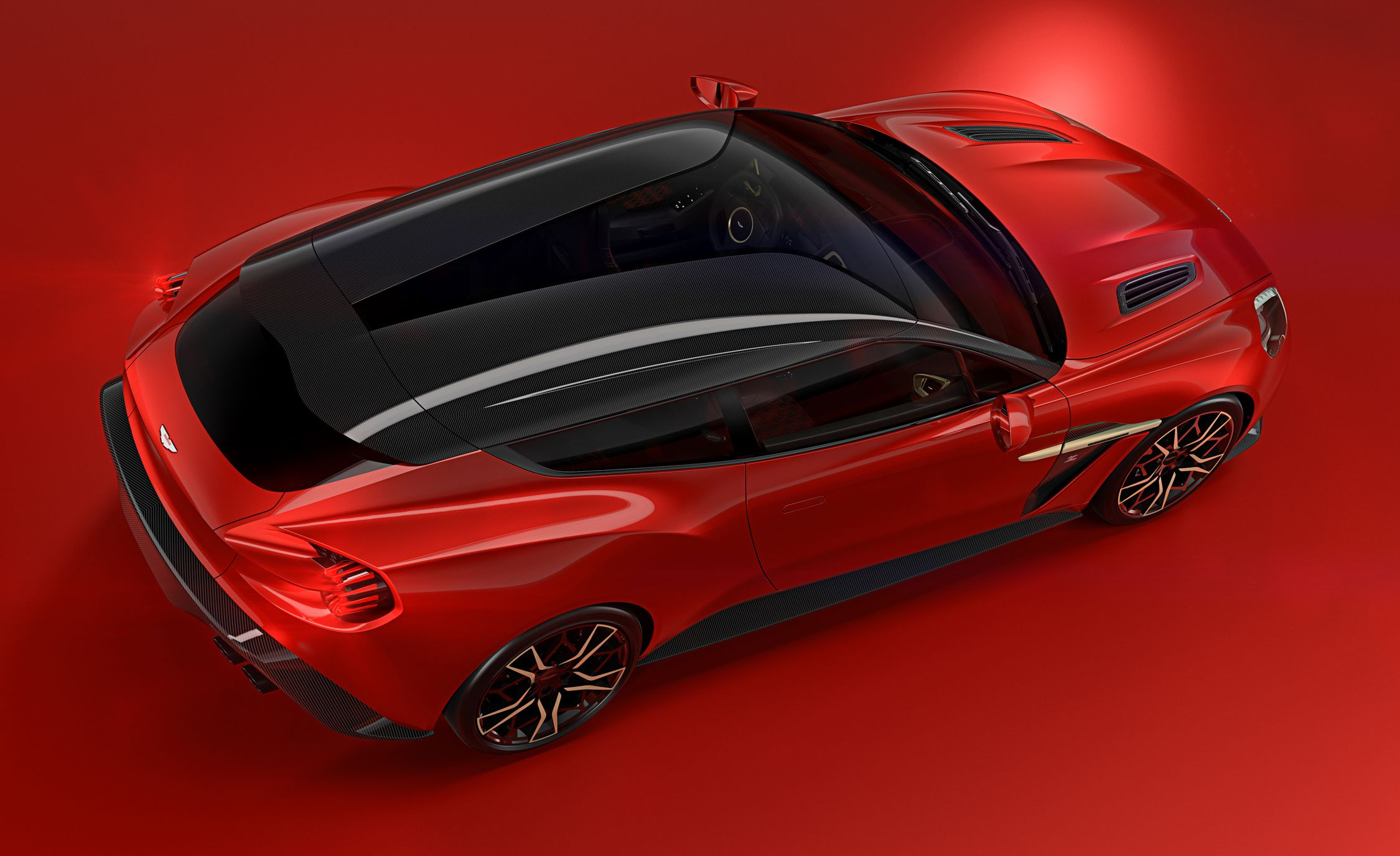 Zagato Builds An Aston Martin Vanquish Wagon News Car And Driver