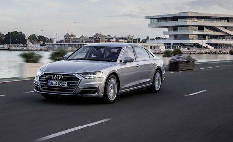 Land vehicle, Vehicle, Car, Audi, Automotive design, Luxury vehicle, Audi a6, Executive car, Personal luxury car, Sedan,