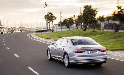 Land vehicle, Vehicle, Car, Luxury vehicle, Automotive design, Sedan, Mid-size car, Full-size car, Audi, Family car,