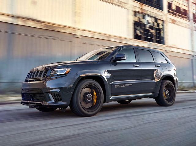2019 Jeep Grand Cherokee Trackhawk Review, Pricing, and Specs