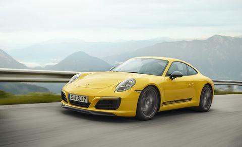 Land vehicle, Vehicle, Car, Automotive design, Yellow, Supercar, Performance car, Sports car, Luxury vehicle, Porsche,