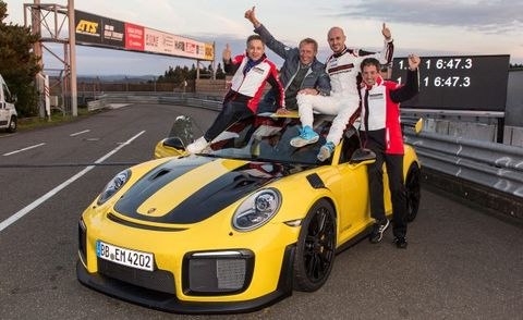Who Oversees Nurburgring Record Lap Time Claims Feature Car And