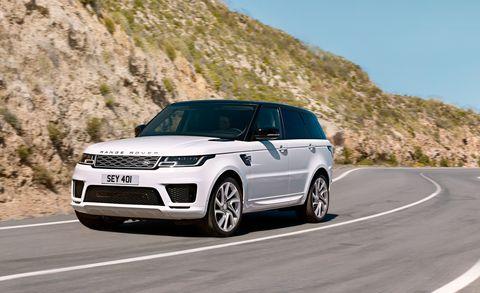Land vehicle, Vehicle, Car, Sport utility vehicle, Range rover, Motor vehicle, Luxury vehicle, Automotive design, Rim, Landscape,