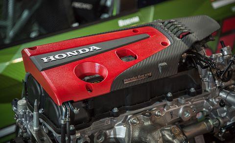 Engine, Auto part, Vehicle, Car, Automotive engine part, Rocker cover, Honda, Transmission part,