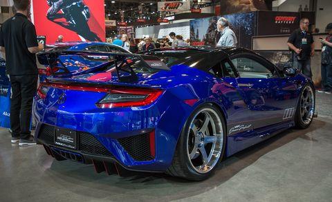Land vehicle, Vehicle, Car, Auto show, Sports car, Motor vehicle, Automotive design, Performance car, Supercar, Honda,