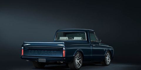 Centennial C/K: Chevrolet Pickup Blends Old with New, Is Rad