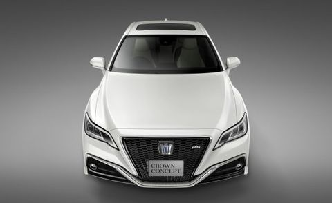Toyota Crown Concept Tokyo Front