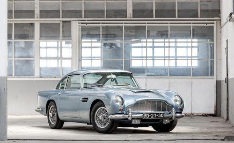 Paul McCartney 1965 Aston Martin DB5