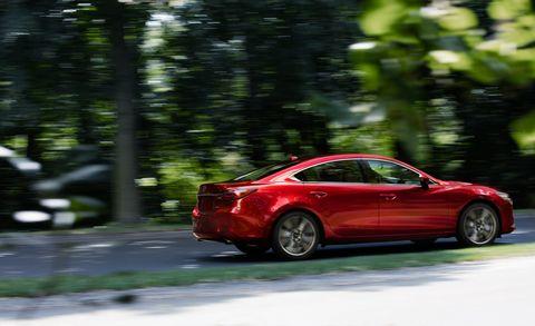 Land vehicle, Vehicle, Car, Mazda, Mid-size car, Mazda6, Automotive design, Sedan, Full-size car, Luxury vehicle,