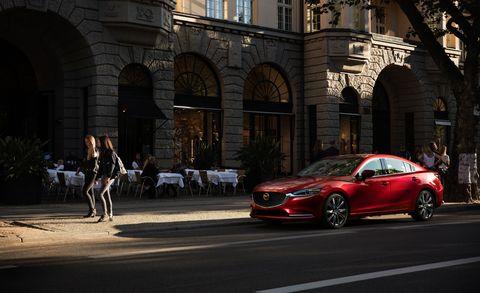 Land vehicle, Vehicle, Car, Automotive design, Mid-size car, Personal luxury car, Luxury vehicle, Performance car, Mazda, Mazda6,